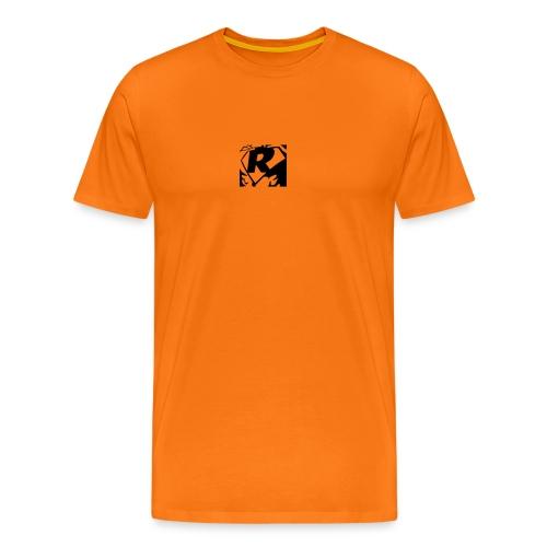 Black R2 - Men's Premium T-Shirt