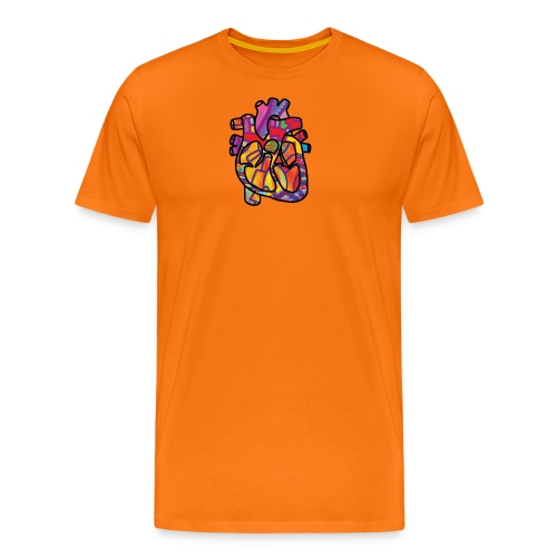 Real Energetic Heart - Men's Premium T-Shirt