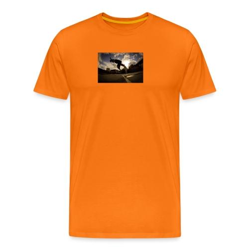 backflip - Premium-T-shirt herr