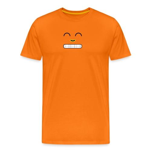 Face - Miesten premium t-paita