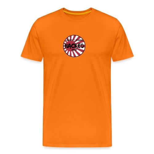 Hacked Media support Hoodie - Premium-T-shirt herr