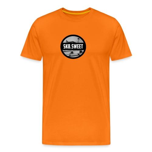 sk8 buttons - Mannen Premium T-shirt