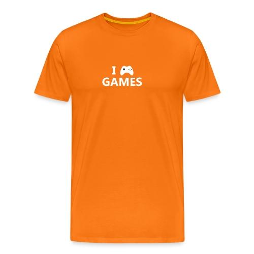 I Love Games 2 - Camiseta premium hombre