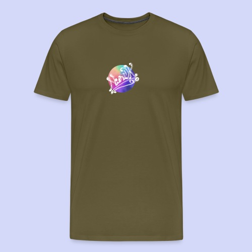 pastel rainbow, NuniDK Collection - Female top - Herre premium T-shirt
