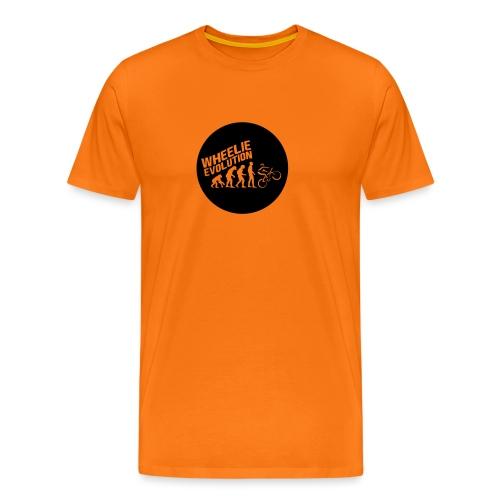 Wheelie Evolution (BLACK) - Männer Premium T-Shirt