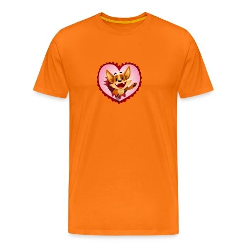 Fuchs 2 - Männer Premium T-Shirt