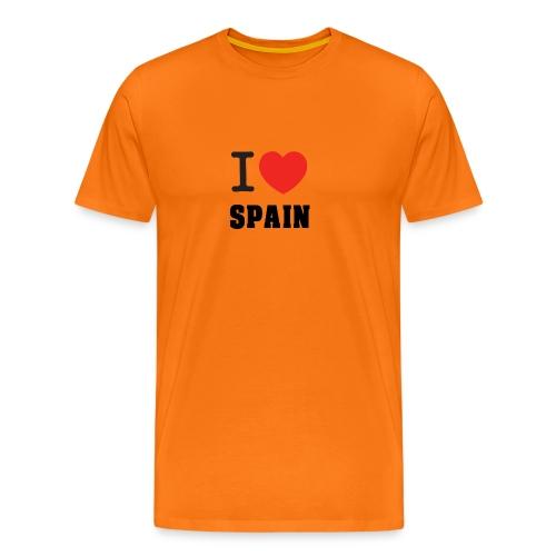 I love spain - Camiseta premium hombre