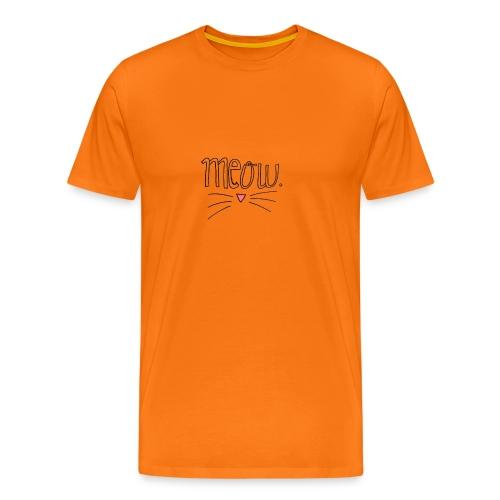 MEOW - Camiseta premium hombre