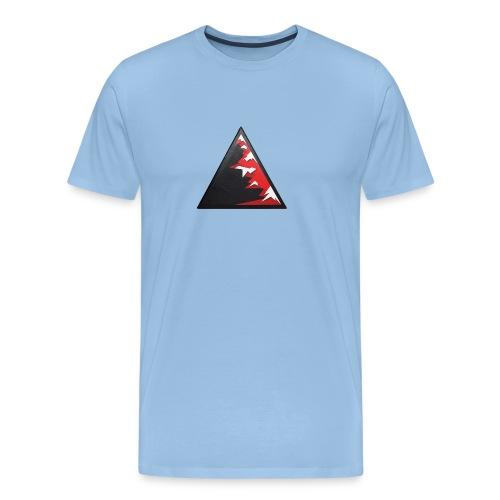Climb high as a mountains to achieve high - Men's Premium T-Shirt
