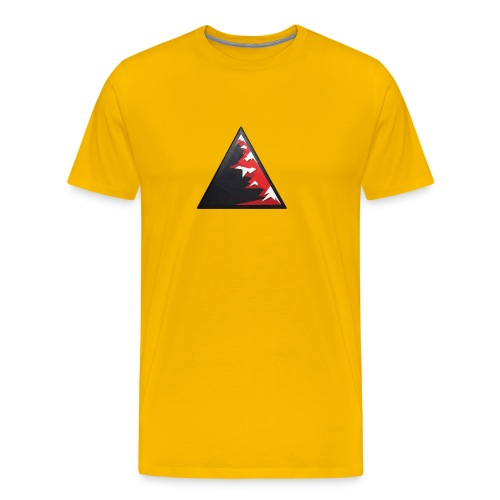 Climb high as a mountains to achieve high - Men's Premium T-Shirt