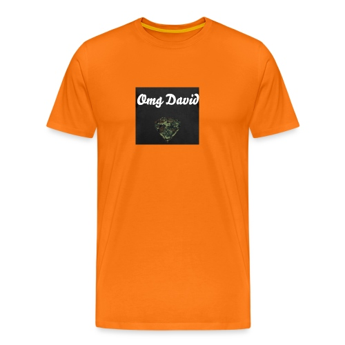 Omg David - Männer Premium T-Shirt