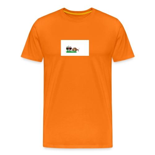 YOUTUBE_OKSE_OG_KOALA - Premium T-skjorte for menn