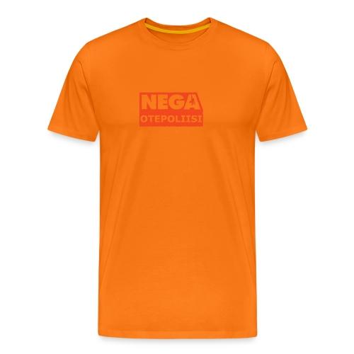 OtePoliisi pinssi iso - Miesten premium t-paita