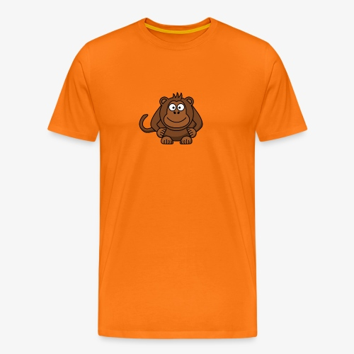 monkey - Maglietta Premium da uomo