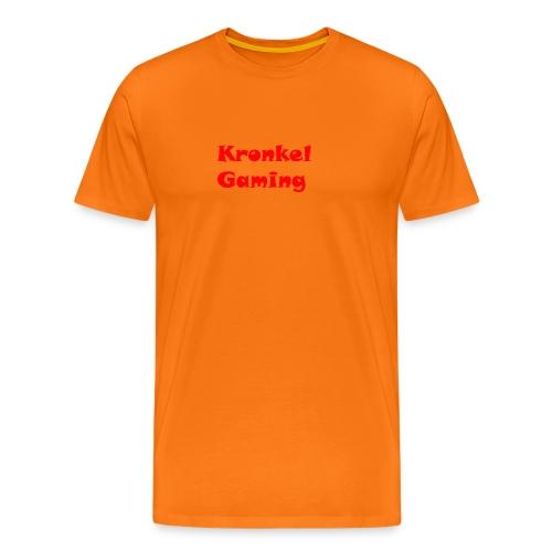 Baseball Cap Kronkelgaming - Mannen Premium T-shirt