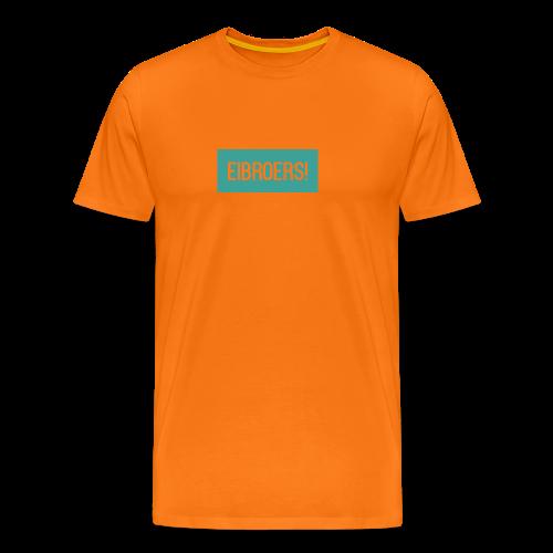 T-shirt Eibroers Naam - Mannen Premium T-shirt