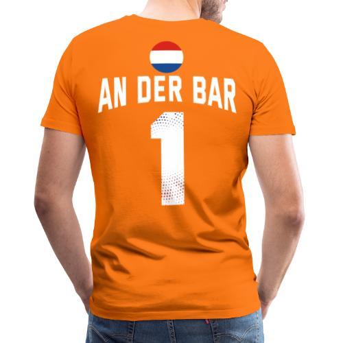 An Der Bar Niederlande Holland Party Sauftrikot - Männer Premium T-Shirt