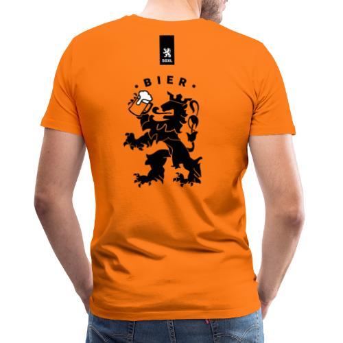 Oranje Bier - EK 2021 Shirt - Mannen Premium T-shirt