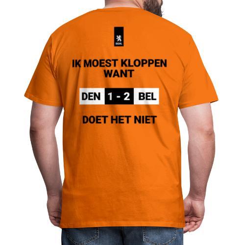 Ik Moest Kloppen - EK 2021 - Mannen Premium T-shirt