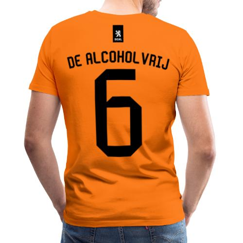 De Alcholvrij Oranje - EK 2021 - Mannen Premium T-shirt