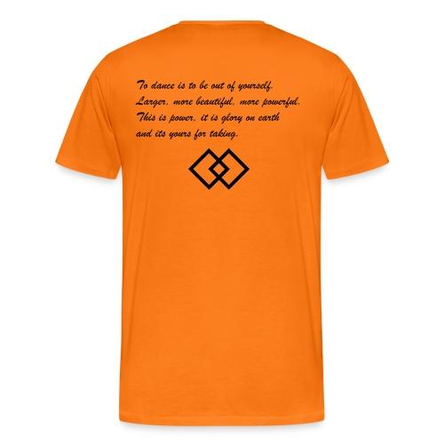 sdlogo schwarz - Männer Premium T-Shirt