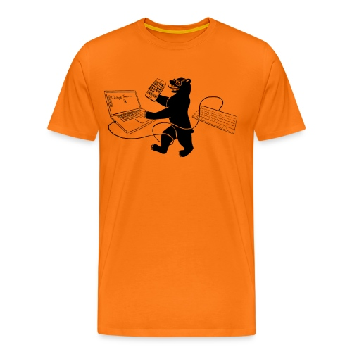 Policy Bear - Men's Premium T-Shirt