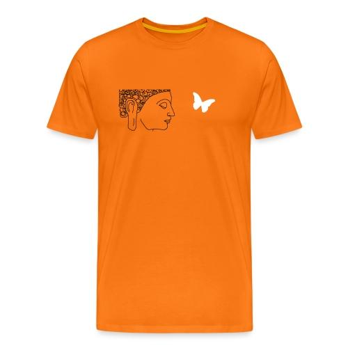 budha et papillon - T-shirt Premium Homme