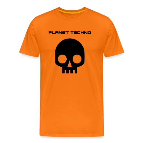Planet Techno Tee001 - Men's Premium T-Shirt