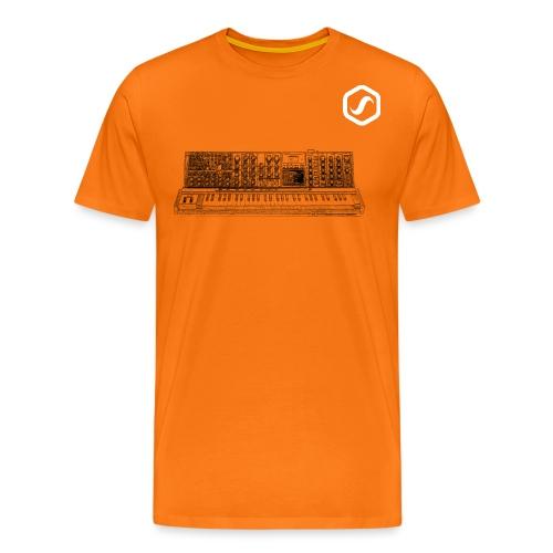 logo sos wave white 963 png - Männer Premium T-Shirt