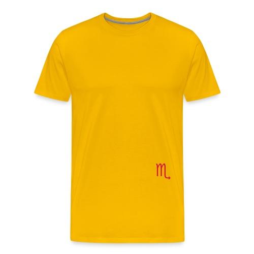 scorpio - scorpione - Maglietta Premium da uomo