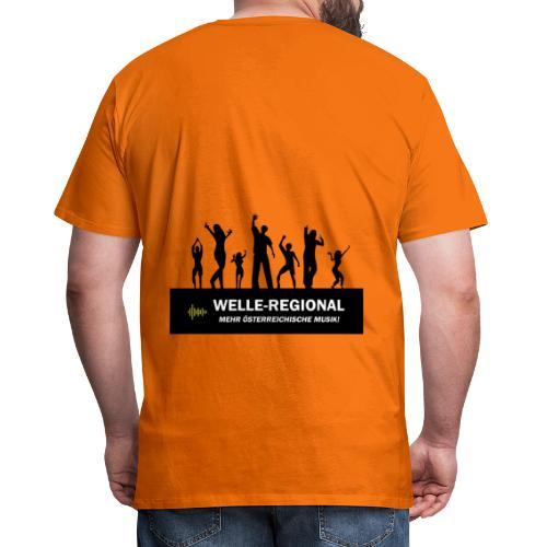 Welle Party - Männer Premium T-Shirt