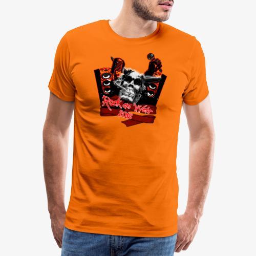 party schwarz png - Männer Premium T-Shirt
