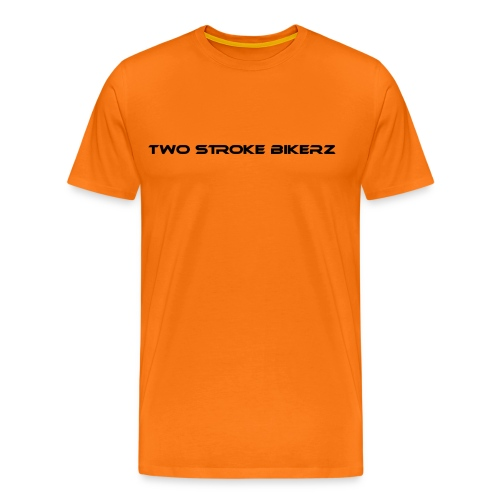 TSB Schriftzug schwarz png - Männer Premium T-Shirt