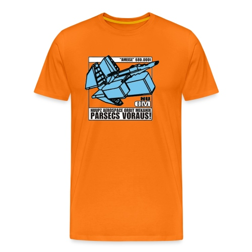 ANA PATCH ITZHB35 3 png - Männer Premium T-Shirt