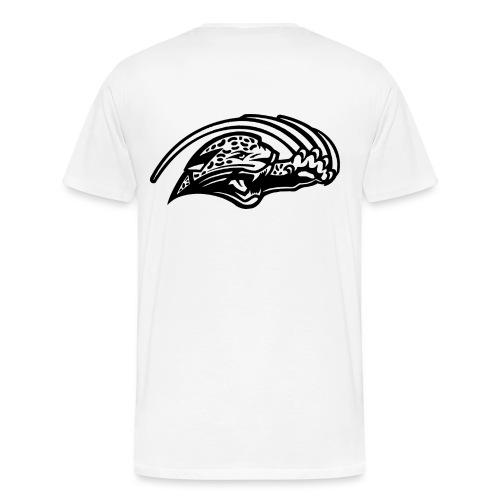 negatif logo noir png - T-shirt Premium Homme