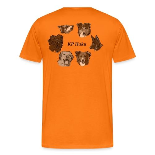 Tintti - Miesten premium t-paita