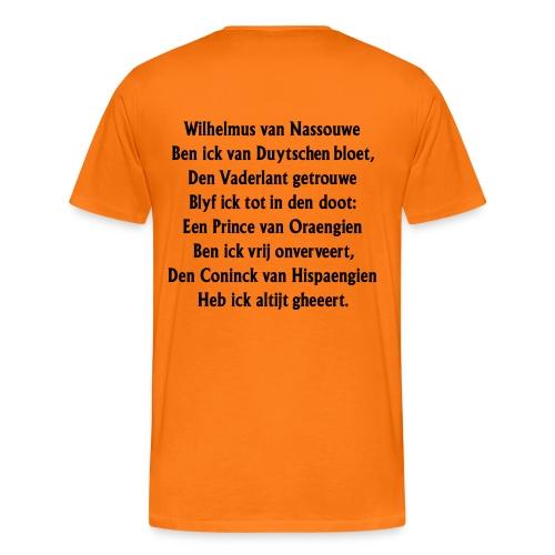 wilhelmus - Mannen Premium T-shirt