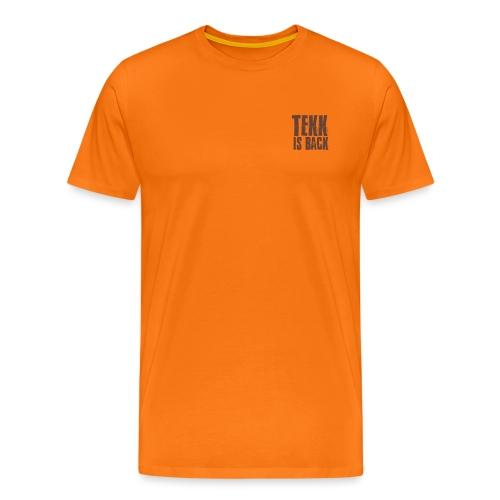 Tekk is Back weiss - Männer Premium T-Shirt