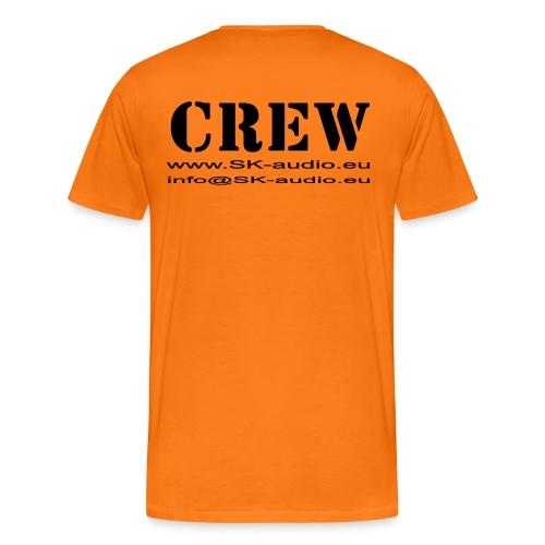 skaudio crew hintenkurve - Männer Premium T-Shirt