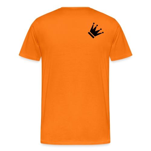 crown png - Premium T-skjorte for menn
