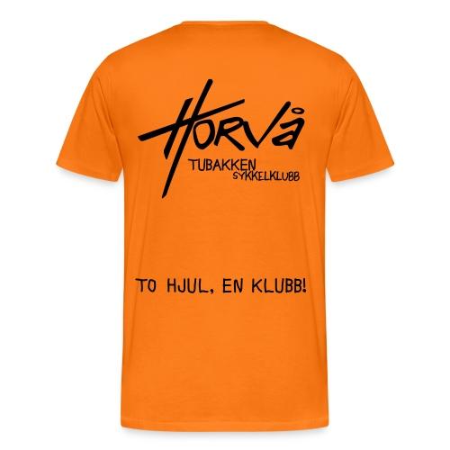 tohjul 2015 - Premium T-skjorte for menn