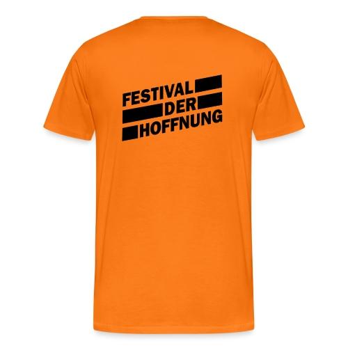 schwarz png - Männer Premium T-Shirt