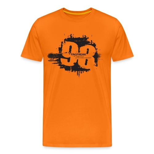 Fagfreak png - Herre premium T-shirt