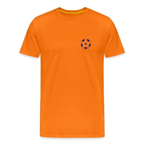 sof logo blue - Men's Premium T-Shirt