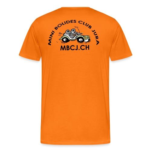 logo MBCJ complet 50cm - T-shirt Premium Homme