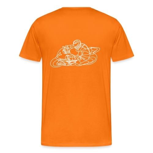 Rennfahrer - Männer Premium T-Shirt