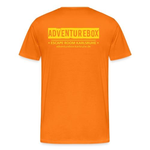 abox ka logo spreadshirt - Men's Premium T-Shirt