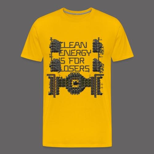 Clean Energy 2 - Men's Premium T-Shirt