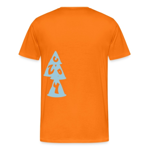 Conos CRZY: CR - Camiseta premium hombre