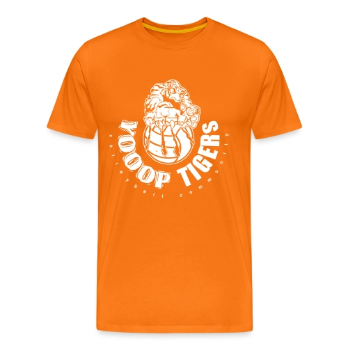 Logo des Yooop Tigers Bruxelles - T-shirt Premium Homme